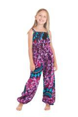 Combinaison pantalon Imprimée et Ethnique pour Fille Akela Rose 279834