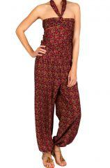 Combinaison-pantalon look bohème avec lien à nouer Sorry 293256