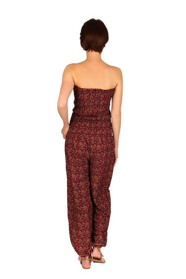 Combinaison-pantalon look bohème avec lien à nouer Sorry 293258