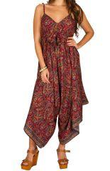 Combinaison-pantalon originale à fines bretelles réglables Erine 293457