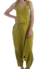 Combinaison-pantalon salopette fourche basse Anis Marcella 298233