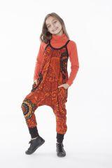 Combinaison pour fillette Ethnique et Originale Simba Orange 286070