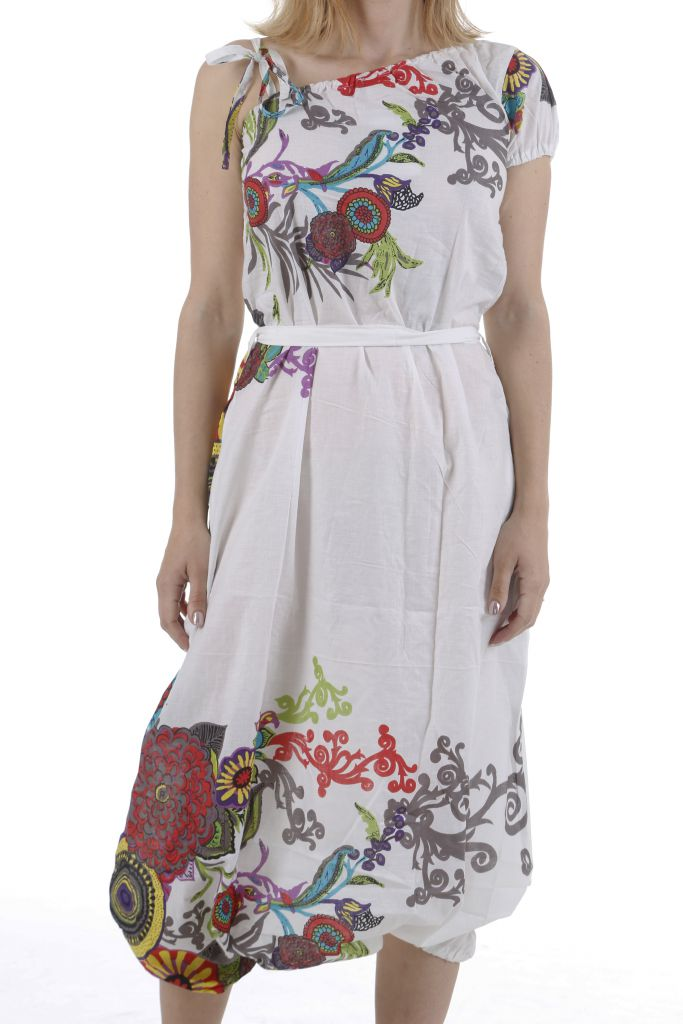 Combinaison sarouel ethnique aux imprimés colorés Brenda 310987