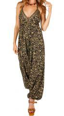 Combinaison sarouel imprimée de fleurs pour un look bohème Izil 305669