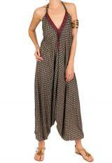 Combinaison-sarouel parfaite pour l'été avec dos nu Ilyna 292741