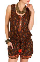 Combinaison-Short ethnique avec imprimés traditionnels indien Kirsty 292952