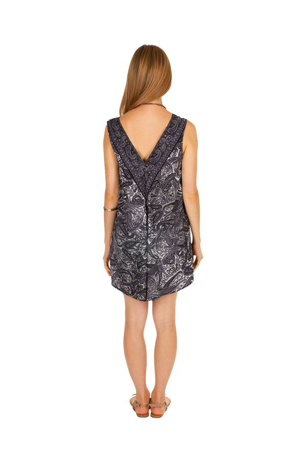 Combishort original sans manches, ample effet robe Fanny 305806