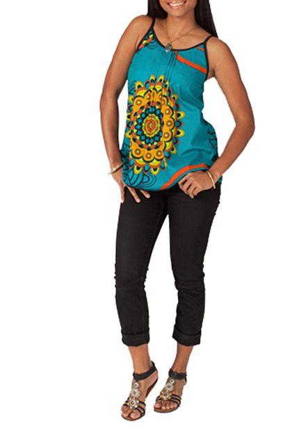 Débardeur femme coloré Léa 267705