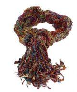 Echarpe tissée en fil de soie 247838