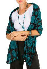 Foulard coloré et chic en voile de coton femme Bryan 309401