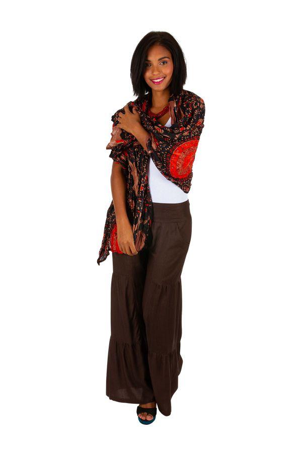 Foulard en coton pour votre look ethnique-chic Chris