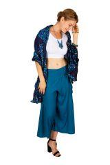 Foulard femme imprimée couleur bleu marine Joel 309396