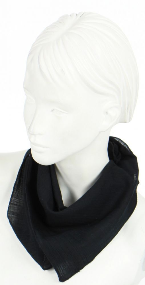 foulard liwat en coton noir n°2 248580