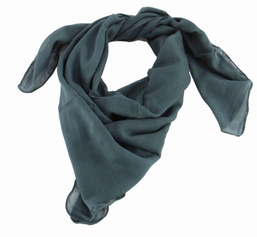foulard winlow en coton gris n°5 248510