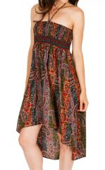 Jupe asymétrique ou Robe agréable et très ethnique Louna 310204