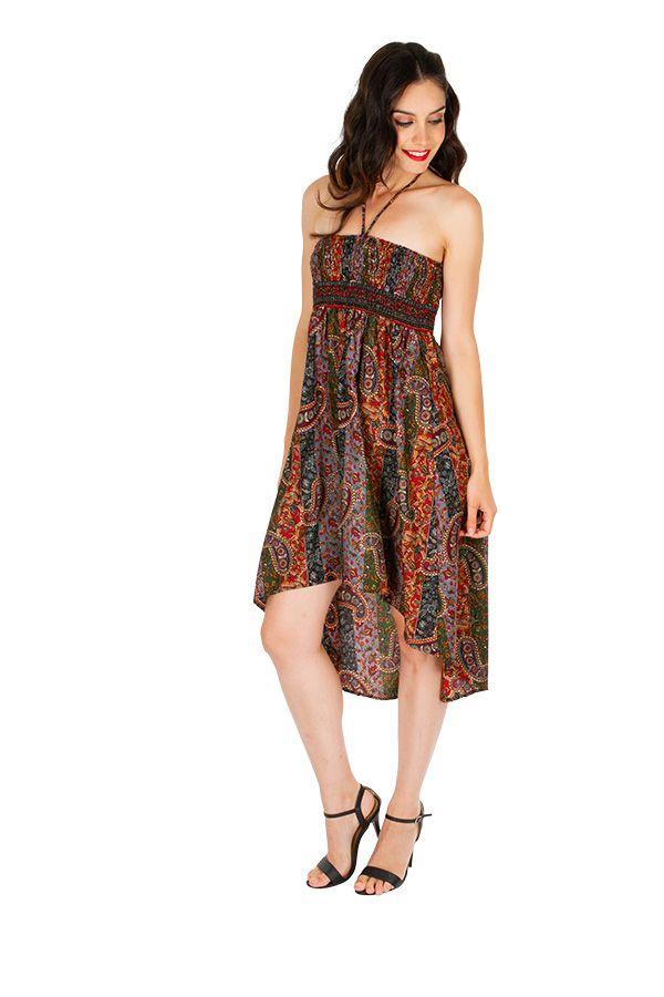Jupe asymétrique ou Robe agréable et très ethnique Louna 310205