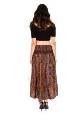 Jupe asymétrique ou Robe agréable et très ethnique Louna 310206
