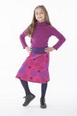 Jupe Chic Enfant Fille Imprimé et Coloré Violaine 286087