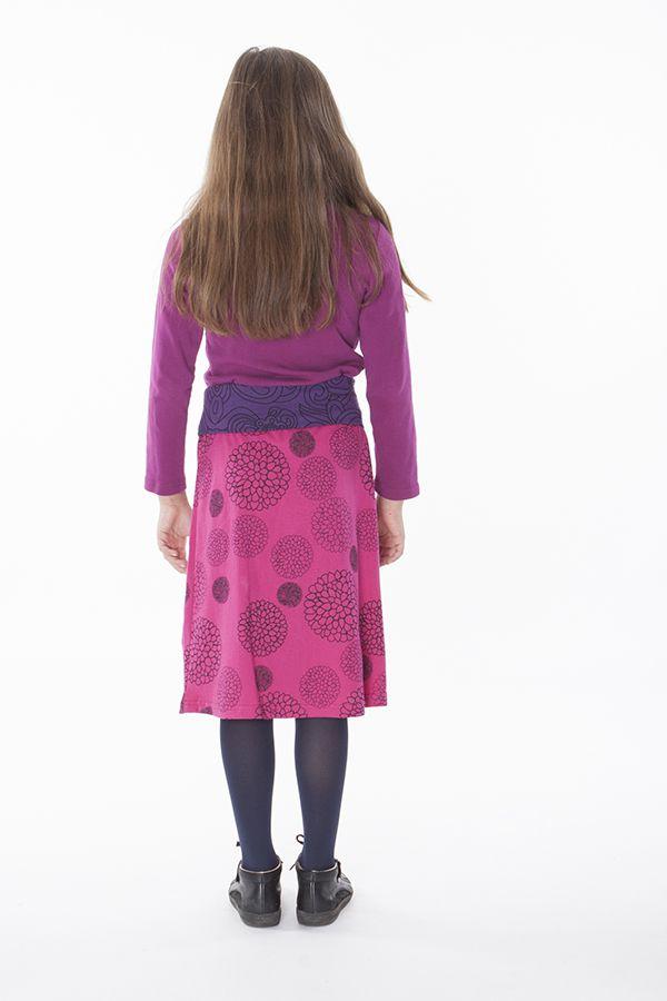 Jupe Chic Enfant Fille Imprimé et Coloré Violaine 286088
