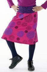 Jupe Chic Enfant Fille Imprimé et Coloré Violaine 287124