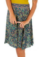 Jupe courte avec un imprimé baroque pour femme Lecy