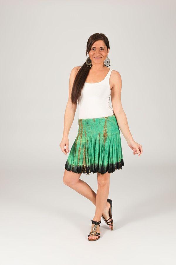 Jupe courte bohème chic femme style gypsie Marceline 315289