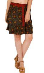 Jupe courte d'été femme imprimée et originale Dorianne 314246