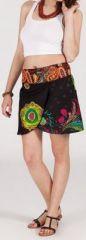 Jupe courte imprimée ethnique pas chère pour l'été Isabeli 1 271634