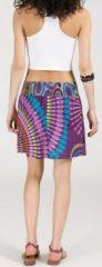 Jupe courte imprimée ethnique pas chère pour l'été Isabeli 5 271645