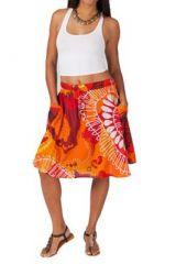 Jupe courte orange originale Britney 267480