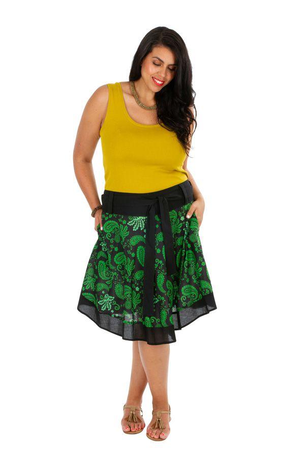 Jupe courte originale femme grande taille Magdalena 309342