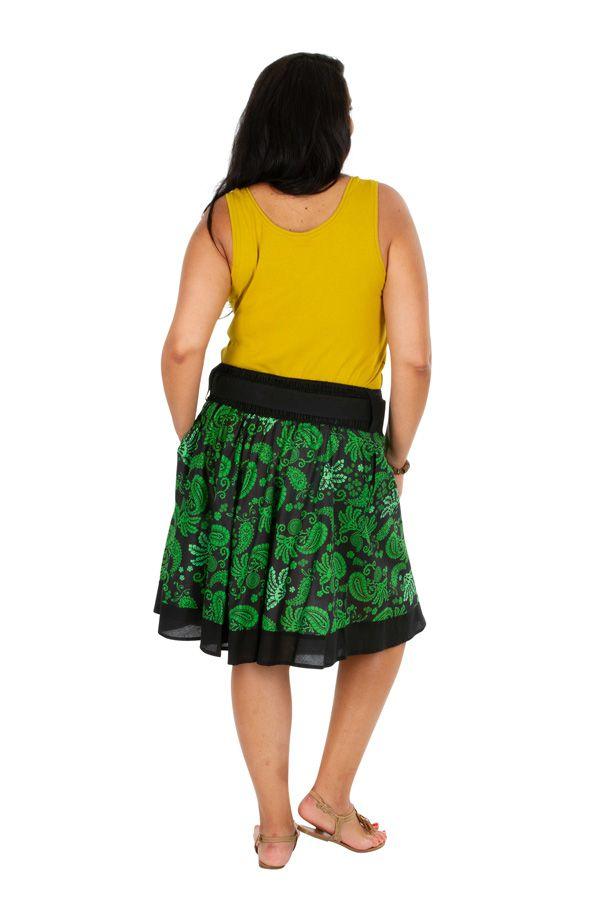 Jupe courte originale femme grande taille Magdalena 309343