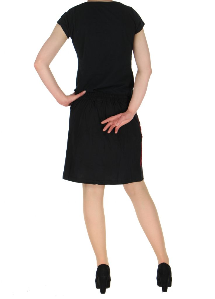 Jupe courte originale noire louma 261058