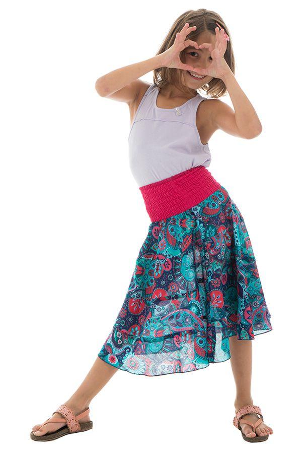 Jupe d'été avec motifs originaux hauts en couleur Isadora 290541