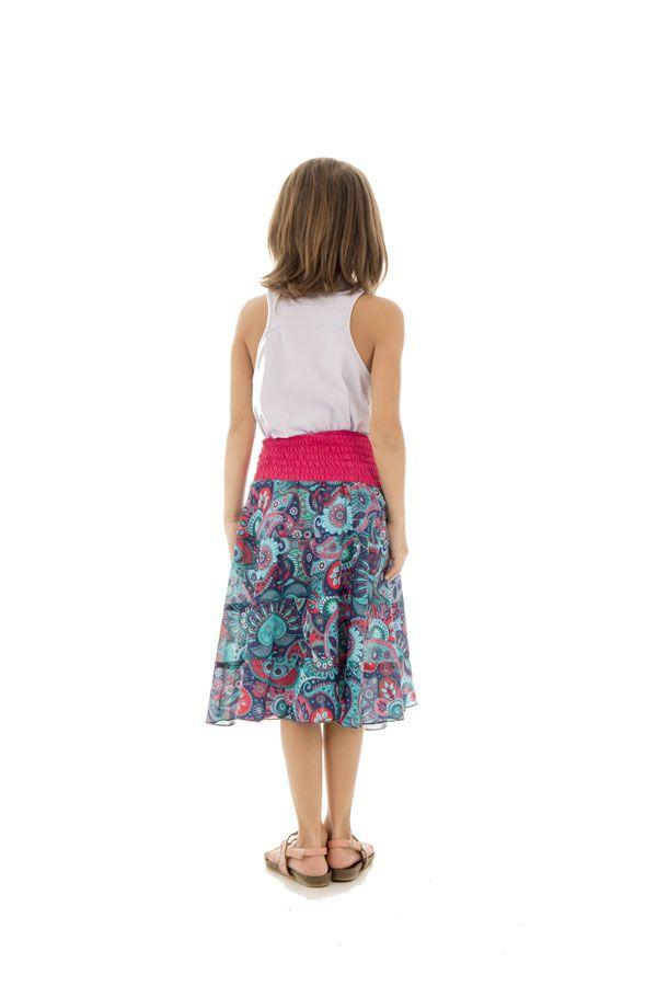 Jupe d'été avec motifs originaux hauts en couleur Isadora 290542