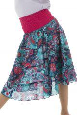 Jupe d'été avec motifs originaux hauts en couleur Isadora 294060