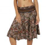 Jupe été pour femme fluide et ample style vintage Slava 316015