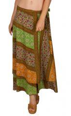 Jupe ethnique pour femme longue et agréable Camille 310146