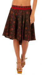 Jupe femme aux imprimés originaux et colorés Nouchka 310116