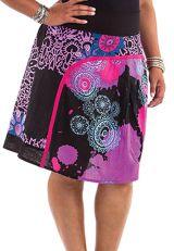 Jupe grande taille colorée et originale Haina 281713