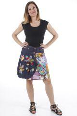 Jupe légère pour femme très originale et colorée Laura 310606