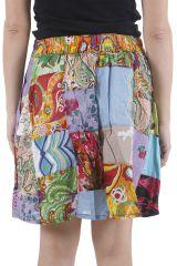 Jupe légère pour femme très originale et colorée Laura 310608