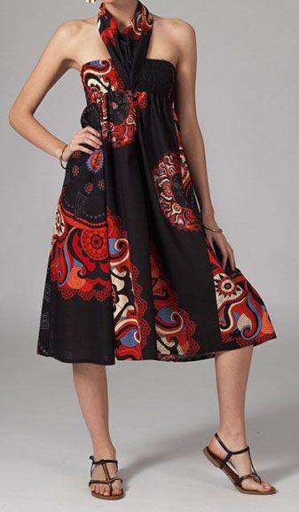 Jupe longue 2en1 transformable en robe Béatrice 269275