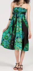 Jupe longue 2en1 transformable en robe-bustier Sarani n1 271384