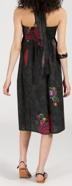 Jupe longue 2en1 transformable en robe-bustier Sarani n10 271425