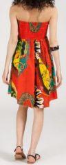 Jupe longue 2en1 transformable en robe-bustier Sarani n12 271432