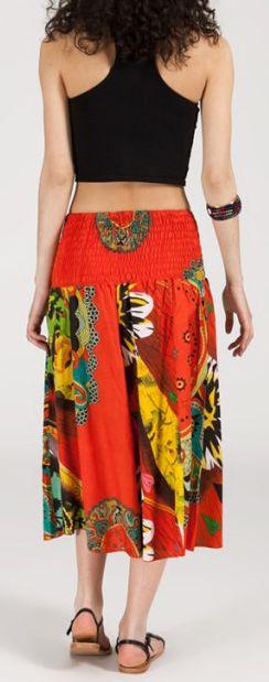 Jupe longue 2en1 transformable en robe-bustier Sarani n12 271433