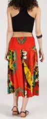 Jupe longue 2en1 transformable en robe-bustier Sarani n12