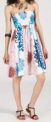 Jupe longue 2en1 transformable en robe-bustier Sarani n14 271440