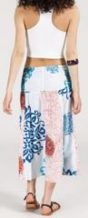 Jupe longue 2en1 transformable en robe-bustier Sarani n14